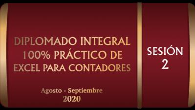 DIEPS22020 - DIPLOMADO INTEGRAL 100% PRACTICO DE EXCEL