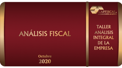 TAIES32020 - ANÁLISIS FISCAL